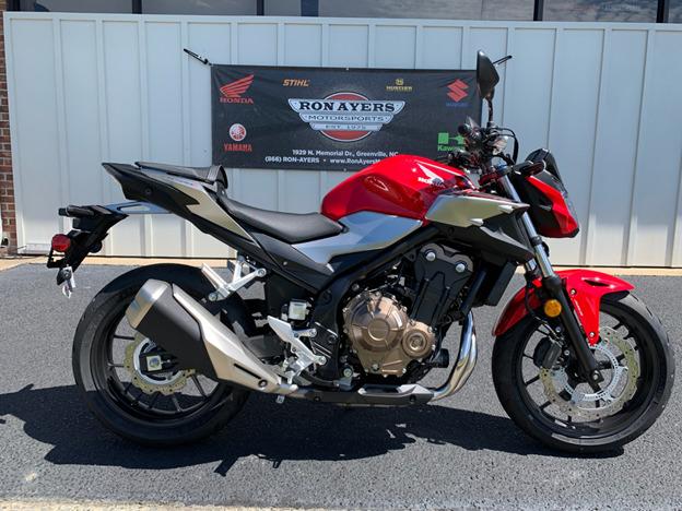 Honda CB500F mang dáng vẻ cơ bắp đầy ấn tượng