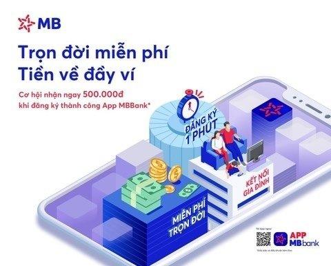 mở tài khoản mb bank có mất phí không