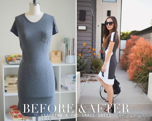 Cách sửa váy bị chật