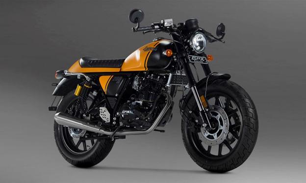 Mẫu moto GPX Legend 200 với vẻ ngoài cổ điển