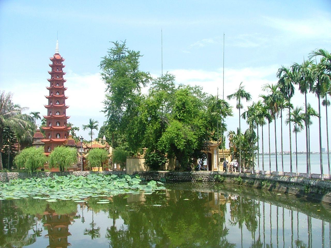 Ảnh đẹp chùa Trấn Quốc-Hà Nội