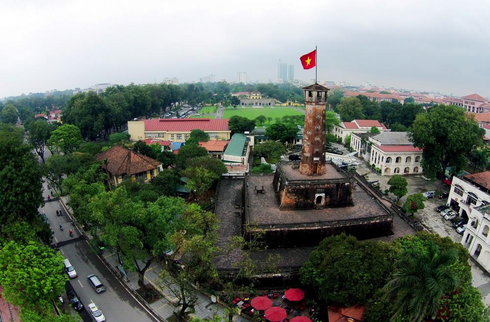 Ảnh đẹp cột cờ Hà Nội