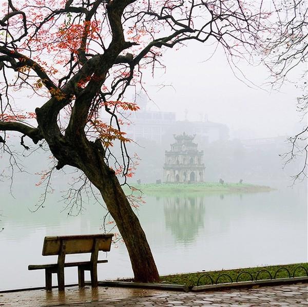 Ảnh đẹp một góc hồ Gươm Hà Nội