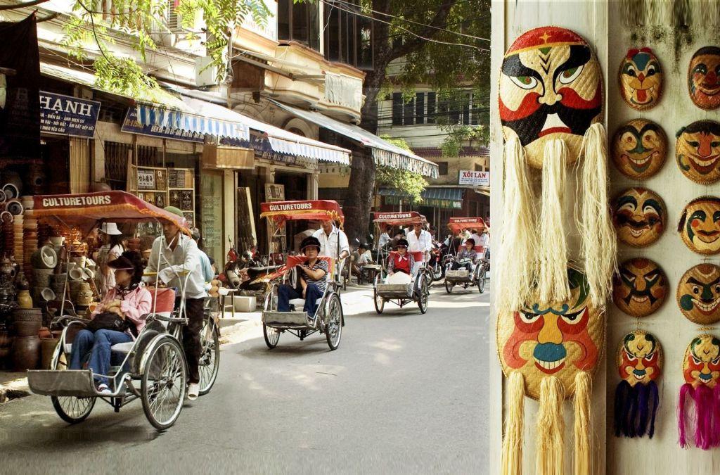 Ảnh đẹp về chiếc xích lô trên phố cổ Hà Nội