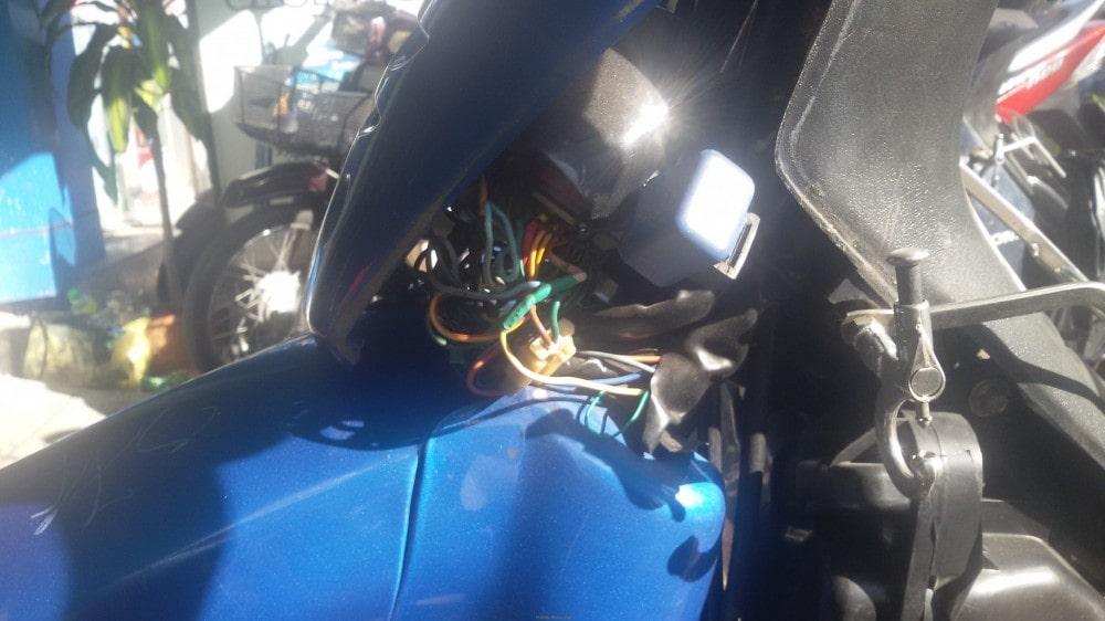 Bộ IC trên hệ thống xe wave đã được độ phun xăng điện tử