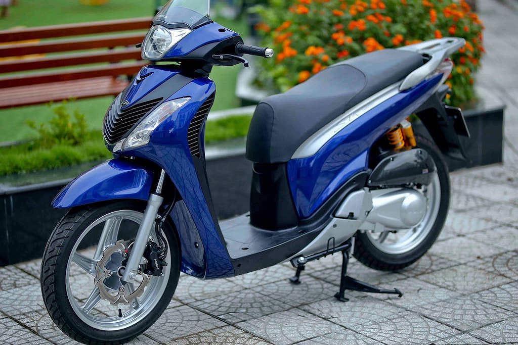 dvl ky3no xe honda sh 150i y don kieng dang cap va an tuong cua biker vinh long 01 0