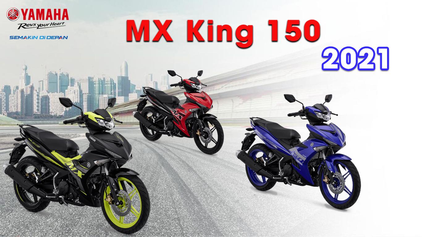 Giá xe và màu xe Jupiter MX King 2021