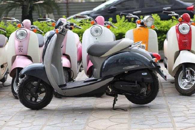 xe ga Honda Scoopy