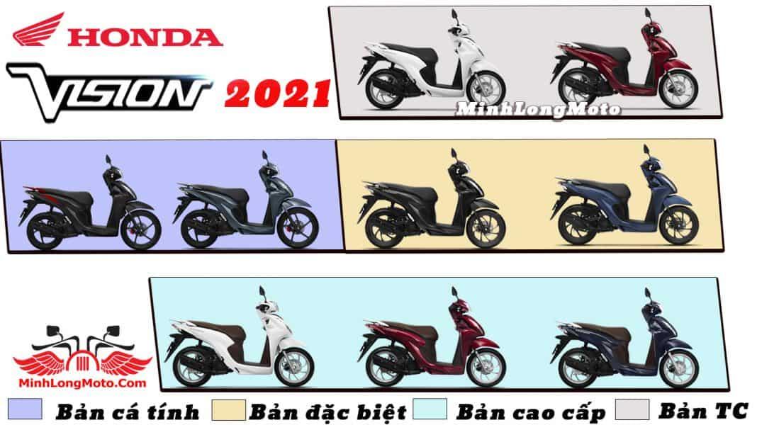 Màu Honda Vision