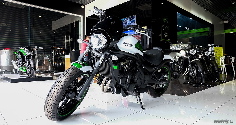 Chi tiết Kawasaki Vulcan S ABS Cafe 2017 chính hãng tại Việt Nam taphoa.net