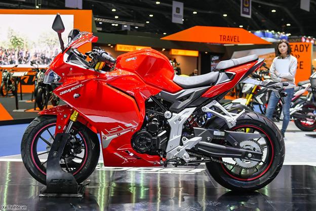 GPX Demon 150GR khiến giới anh em biker Việt phát cuồng