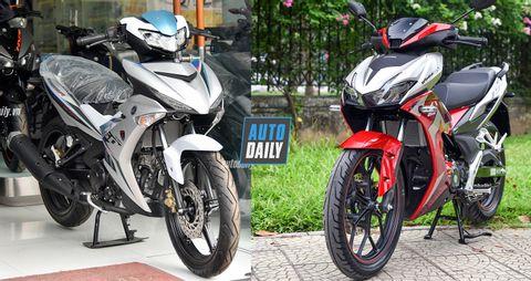 So sánh Honda Winner X và Yamaha Exciter 150: Đi tìm thống lĩnh taphoa.net