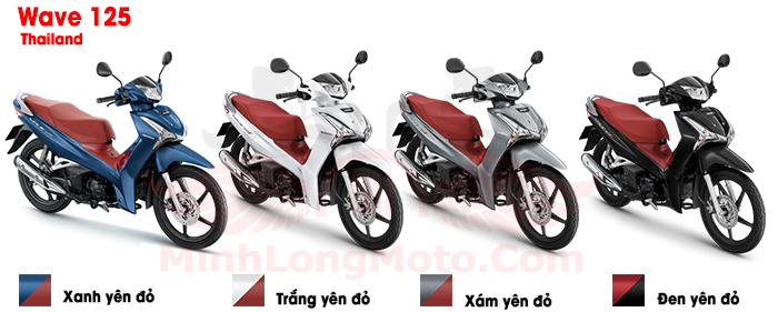 Honda Wave Thái 125 vành đúc